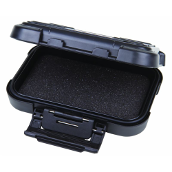"5"" Black ABS Ribbon™ Case with Foam"