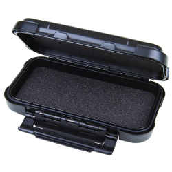 "6-1/4"" Black ABS Ribbon™ Case with Foam"