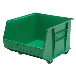 "Green Quantum® Ultra Series Mobile Stack & Hang Bin - 18"" L x 16-1/2"" W x 11"" Hgt."