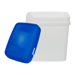 White Rectangular Container & Lid