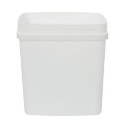 100 oz. White Rectangular PP Container (Lid Sold Separately)