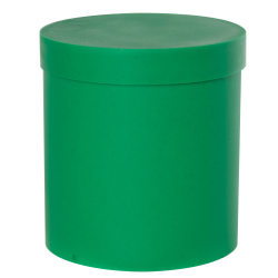 Green Roundabout Container with Lid
