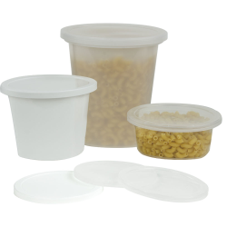 Quad In-Mold Containers & Lids