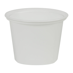 16 oz. White Quad In-Mold Container (Lid Sold Separately)