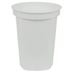 32 oz. White Quad In-Mold Container (Lid Sold Separately)
