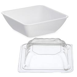 Dinex® Square Bowls & Lids