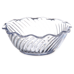 13 oz. Dinex® Clear Tulip Swirl Cup (Lid Sold Separately)