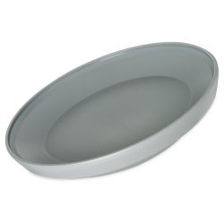 "9"" Dinex® Gray Cool Insulated Base for 9"" Plate"
