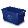 """25.8""""L x 16.2""""W x 14.5""""H Recycling Bin"""