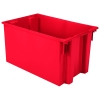 "29-1/2""L x 19-1/2""W x 15""H Red Akro-Mils® Nest & Stack Container"