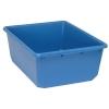 "24-1/2""L x 19""W x 9-1/2""H Blue QuanTub Nesting Tote"