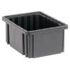 "10-7/8""L x 8-1/4""W x 5""H Conductive Dividable Grid Container"