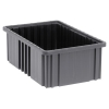 "Conductive Dividable Grid Container - 16-1/2"" L x 10-7/8"" W x 6"" Hgt."