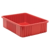 "Red Dividable Grid Container - 22-1/2"" L x 17-1/2"" W x 6"" Hgt."