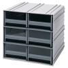 Interlocking Storage Cabinet w/6 IDR 204 Drawers