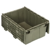 """21-1/2""""L x 15-1/4""""W x 9-5/8""""H Heavy Duty Attached Top Container"""