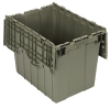 "21-1/2"" L x 15-1/4"" W x 17-1/4"" Hgt. Heavy-Duty Attached Top Container"