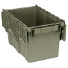 """22-1/8""""L x 12-13/16""""W x 11-7/8""""H Heavy Duty Attached Top Container"""