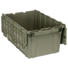 """27""""L x 17-3/4""""W x 12-1/2""""H Heavy Duty Attached Top Container"""