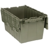 """24""""L x 15""""W x 13-3/4""""H Heavy Duty Attached Top Container"""