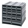Interlocking Storage Cabinet w/12 IDR 201 & 2 IDR 203 Drawers