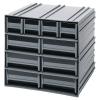 Interlocking Storage Cabinet w/4 IDR 201 & 6 IDR 203 Drawers