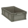 "Quantum® Straight Walled Stacker - 24"" L x 15"" W x 7-1/2"" Hgt."