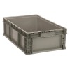 "Quantum® Straight Walled Stacker - 24"" L x 15"" W x 9-1/2"" Hgt."
