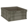 "Quantum® Straight Walled Stacker - 24"" L x 22-1/2"" W x 11"" Hgt."