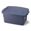 "3 Gallon Dark Indigo Rubbermaid® Roughneck - 16"" L x 10-3/4"" W x 7"" Hgt."