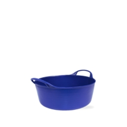 1.3 Gallon Blue Extra Small Shallow Tub