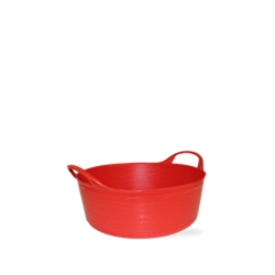 1.3 Gallon Red Extra Small Shallow Tub