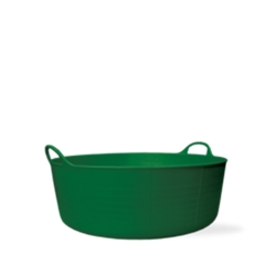 3.9 Gallon Green Small Shallow Tub