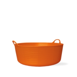 3.9 Gallon Orange Small Shallow Tub