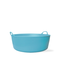 3.9 Gallon Sky Blue Small Shallow Tub