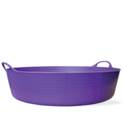 9 Gallon Purple Large Shallow Tub