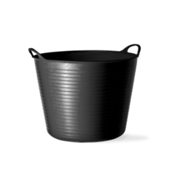 10 Gallon Black Large Tub
