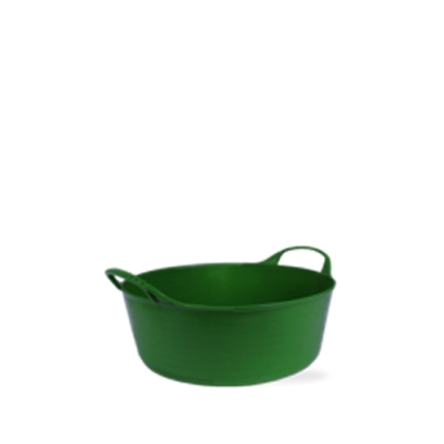 1.3 Gallon Green Extra Small Shallow Tub