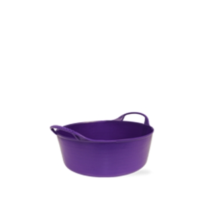 1.3 Gallon Purple Extra Small Shallow Tub