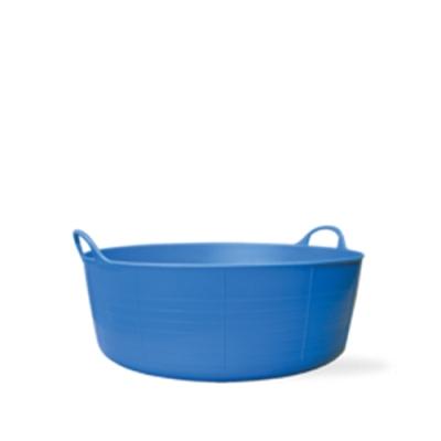 3.9 Gallon Blue Small Shallow Tub