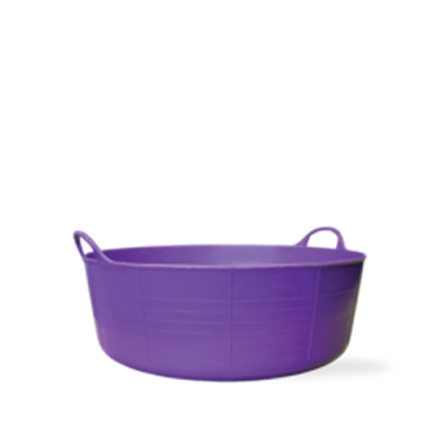 3.9 Gallon Purple Small Shallow Tub