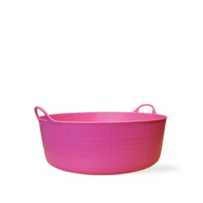 3.9 Gallon Pink Small Shallow Tub