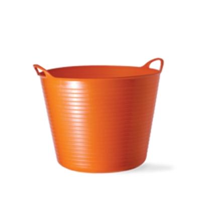 6.5 Gallon Orange Medium Tub