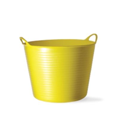 6.5 Gallon Yellow Medium Tub