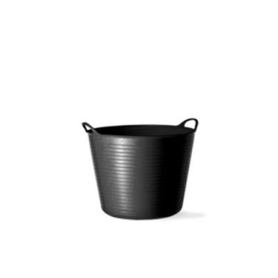 3.6 Gallon Black Small Tub