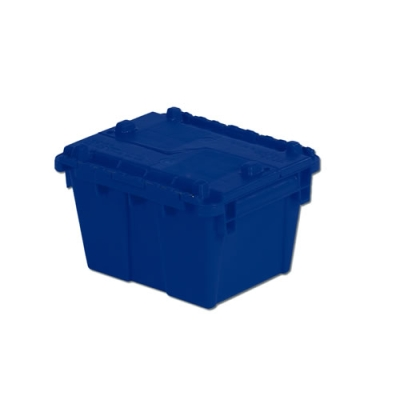 "11.8""L x 9.8""W x 7.7""H Blue Container"