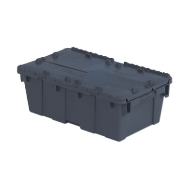 "19.7"" L x 11.8"" W x 7.3"" Hgt. Gray Security Shipper Container"