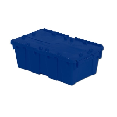 "19.7""L x 11.8""W x 7.3"" Blue Container"