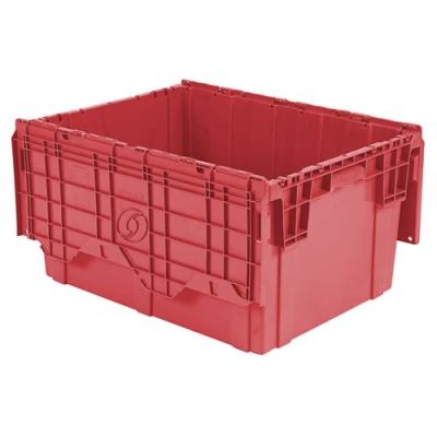 """28"""" L x 20"""" W x 15"""" Hgt. Red Security Shipper Container"""