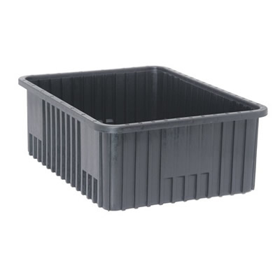 """Conductive Dividable Grid Container - 22-1/2"""" L x 17-1/2"""" W x 8"""" Hgt."""